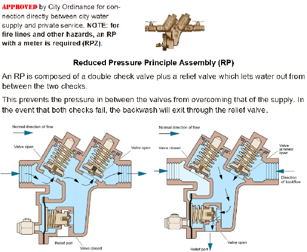 Reduced Pressure Principle Assembly