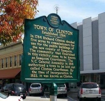 Town of Clinton Historic Marker
